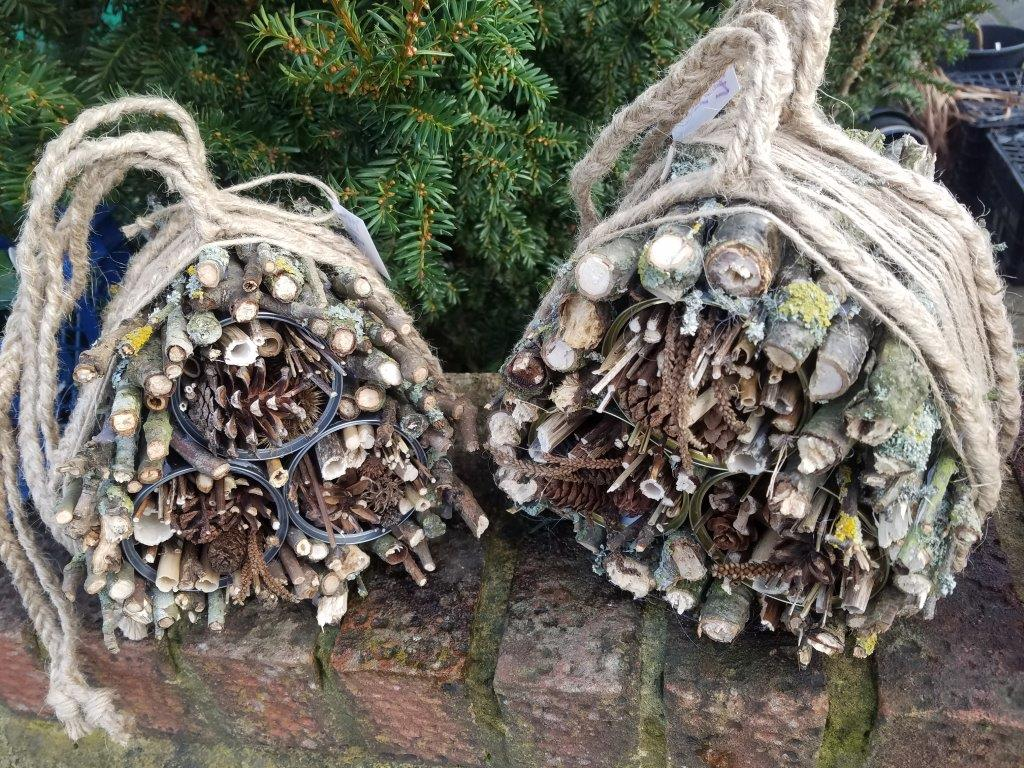 Insect hotels in Surbiton